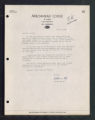 Letter from Arrowhead Lodge to Erwin Oreck, July 8, Ray, Minnesota