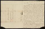 Letter from the Revd. Samuel Peters to Robert McLenehan of Philadelphia.