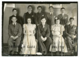 1938 graduating class of the St. Paul Talmud Torah