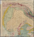 General sketch of the physical and geological features of British India (Northwest Sheet)