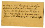 Correspondence, Folder 01