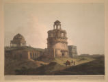 Remains of an Ancient Building near Firoz Shah's Cotilla, Delhi
