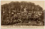 20. Apotheose de la victoire -- 14 Julliet 1919. -- le Coq Gaulois de 1918 surmontant des canons Allemands. --