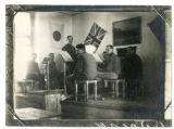 German Prisoner orchestra attached to the Czechoslovak Legion in Ekaterinburg, Russia