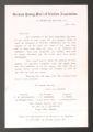 Local Association Miscellaneous Materials. London. German YMCA, 1885-1900. (Box 10, Folder 6)