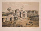 No. 9. The Baillie Guard Battery and Hospital.