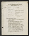 Administrative Files. General Files. African American service committee, 1941-1945.