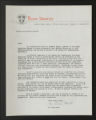1934-1961. Form Letters. (Box 3, Folder 1)