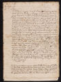 Deposition of various witnesses testifying to the raids of Portuguese slavers., 1631