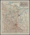 Condition map of Minnesota Trunk Highways : a 7,000 mile primary system showing national and state markings