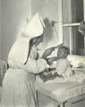 A Jewish Orphan cared for by a German Nun