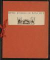 "Program Records. ""Little Stories of Real Life."" (Box 23, Folder 3)"