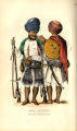 Arab Soldiers; In the pay of the Rao of Cutch.
