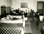 Dorm room at McBurney branch YMCA (formerly 23rd Street branch)
