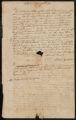 Letter from Rufus Carver to Robert McLenehan of Philadelphia.