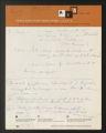 1934-1961. Miscellaneous Notes, 1958. (Box 3, Folder 15)
