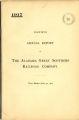 Alabama Great Southern Railroad Company, Annual Report, 1917
