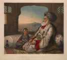 Dost Mahommed King of Cabul and his youngest son.