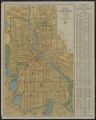 Hudson's indexed map of Minneapolis