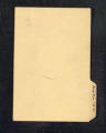 Diaries. Alaska notes (Box 3, Folder 110)