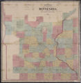 Chapman's sectional map of the surveyed part of Minnesota
