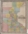 Chapman's new sectional map of Minnesota