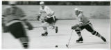 Bulldog hockey players in action during game