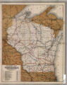 Railroad map of Wisconsin