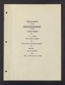 Barberry Eradication. Progress reports by states. Barberry Eradication Campaign, Colorado. (Box 3, Folder 12)