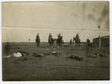 Bolshevik dead on the battlefield near Troisk, Ukraine