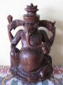 Balinese ebony wood Ganesh
