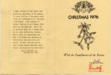 1976 Shaw Christmas Card