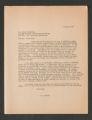 Correspondence, October 1957-February 1958 (Box 1, Folder 5)