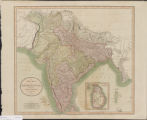 A new map of Hindoostan : from the latest authorities