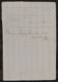 Documents and receipts relating to official work. Provenance: Buenos Aires. June 26, 1804.