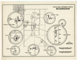 Agricultural Experiment Station, Rosemount map, 1958