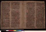Manuscript 10: Mid 15th century. Liturgal
