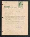 Letter from Birchwood Resort to Rosemary Brown, Tower, Minnesota