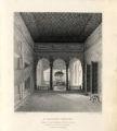 A Thakoor Dwaree: Interior of Lata Kashmeeree Mul's House, Benares.