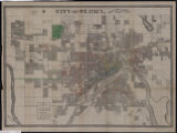 City of St. Paul : annual report, 1886, City Engineers Office.