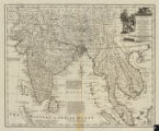 A new and accurate map of the Empire of the Great Mogul, together with India on both sides the Ganges and the adjacent countries