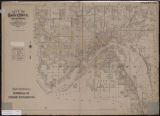 City of Saint Paul, Minnesota : map showing material of street pavements