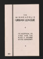 Agencies, 1968-1983. Minneapolis Urban League. General. (Box 217, Folder 5)