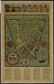 A plan of the city of New York in the yeare [sic] 1664 : compiled from olde maps & documents showing land grants