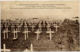 23. Notre-Dame-De-Lorette -- le Cimetiere National, versant de Lens. (la croix indique le Phare-Vigie en constructio