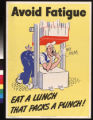 Avoid fatigue : eat a lunch that packs a punch!