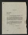 Correspondence, 1934-1961. (Box 1, Folder 13)