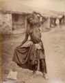A Gipsy [Gypsy] Dancing girl, Kathiawar
