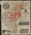 Map showing lands belonging to the St. Paul and Duluth Railroad Company, August 1st 1889