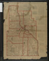 Guide map of Minneapolis, Minnesota : accurately locating all streets and avenues, also giving the route of every street car lin